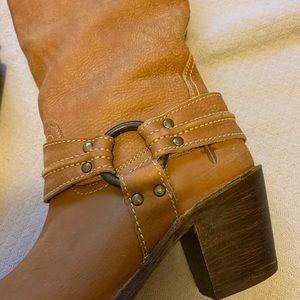 Frye Shoes - Frye Carmen Harness Leather Boot 7.5